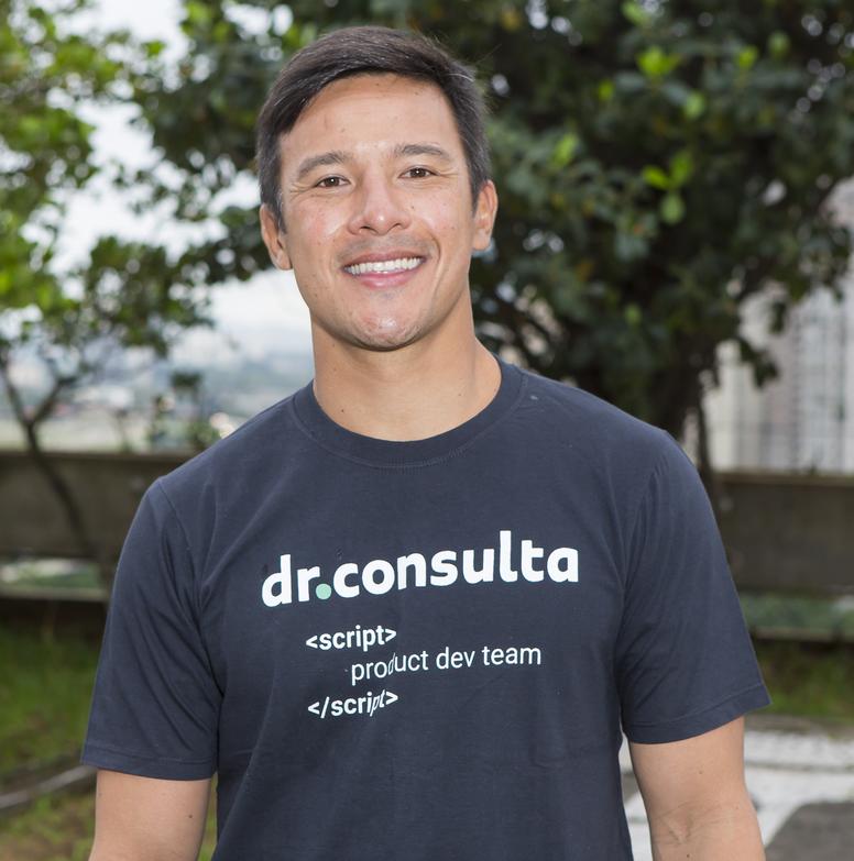 Guilherme Kato, diretor de TI do dr.consulta, dr.consulta